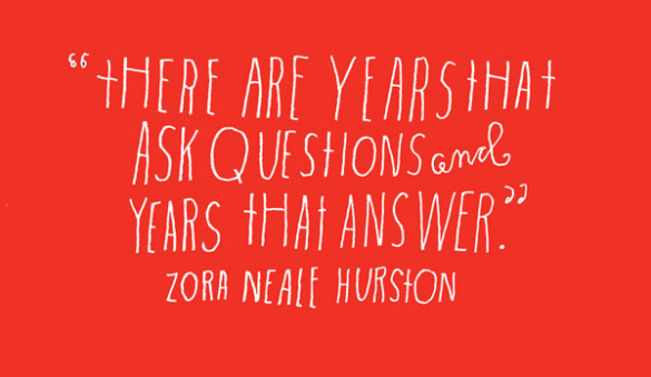 Hurston Quote by Lisa Congdon